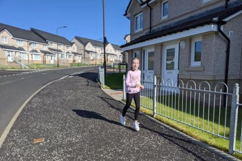 School girl is running a marathon to raise funds for West Lothian foodbank