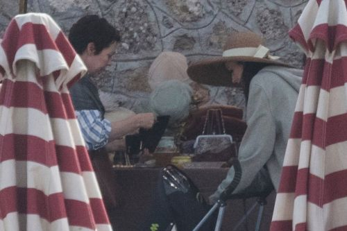 Olivia Colman and Dakota Johnson get into Greek spirit while filming The Lost Daughter on island