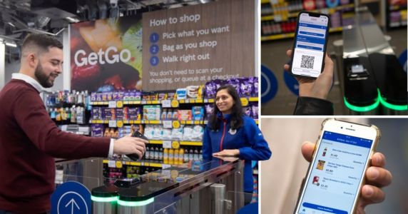 Take a look inside Tesco's first no-check-out supermarket