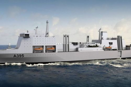 Fresh hopes £1.5bn deal for Royal Navy supply ships could stay in the UK