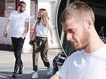 Man United's David de Gea spotted out for first time since apologising for Champions League gaffe