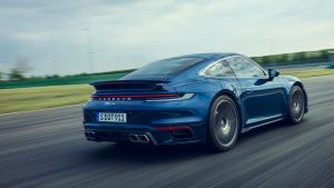 Porsche 911 Turbo arrives with 572bhp and £134k price tag