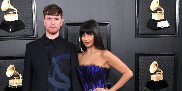 James Blake defends girlfriend Jameela Jamil after viral social media posts accuse the actress of faking health illnesses