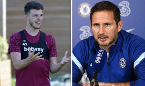 Chelsea boss Frank Lampard addresses Declan Rice transfer rumours amid 'agreement' claims