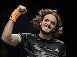 Stefanos Tsitsipas ramps up rivalry with Daniil Medvedev after beating the Russian at the ATP Finals