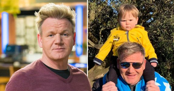 Gordon Ramsay celebrates son Oscar's 1st birthday with adorable snap - and his expression is total mood