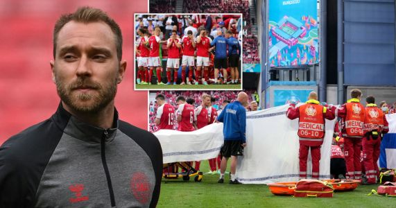'Thank you, I won't give up' - Christian Eriksen releases first statement after cardiac arrest at Euro 2020
