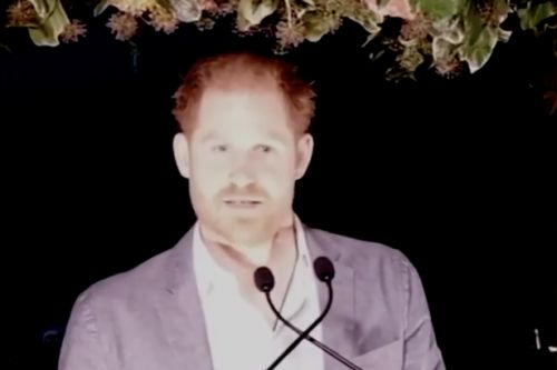 Prince Harry shares 'the truth' about decision to quit royal life in first speech since bombshell news