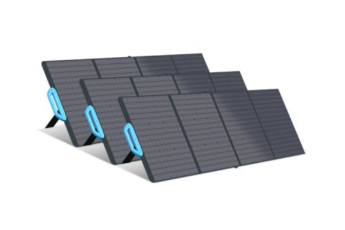 Take solar power efficiency to the next level with Bluetti's PV120/200 solar panels