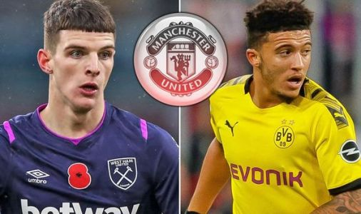 Who Man Utd are confident about signing from Declan Rice and Jadon Sancho