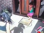 Terrifying moment mother is forced to chase a deadly eastern brown snake away from her two daughters