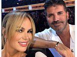 Amanda Holden shares update on her 'dear friend' Simon Cowell's recovery after breaking his back
