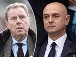 Harry Redknapp SLAMS Daniel Levy and Tottenham for slashing wages of non-playing staff
