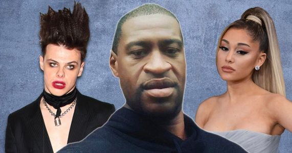 Ariana Grande and Yungblud demand 'Justice for George Floyd' as police officer involved in death is arrested
