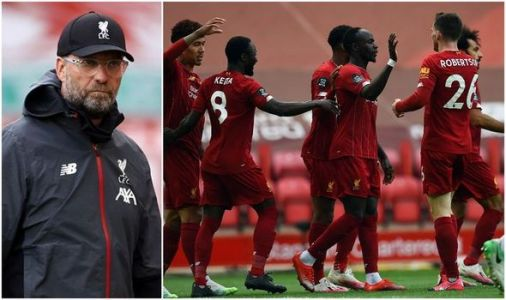 What Jurgen Klopp's Liverpool squad think about beating Man City record after Villa win