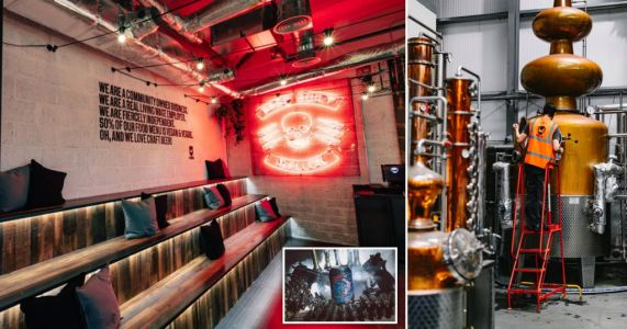Inside BrewDog's high-tech HQ which brews 750,000 pints a day and has its own bar