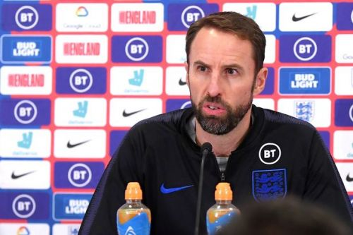 BREAKING Gareth Southgate responds to Raheem Sterling axe in England press conference