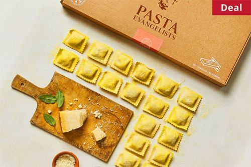 Get an unforgettable at-home restaurant experience worth £27.20 from just £7 with Pasta Evangelists
