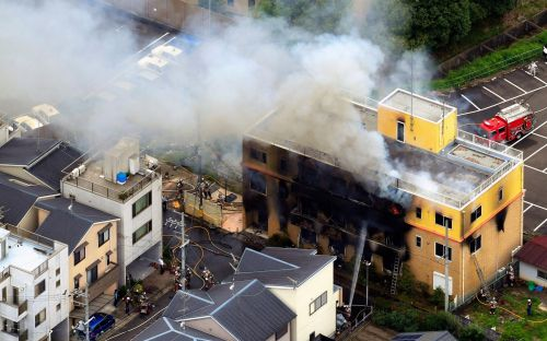 13 dead in 'arson' attack at Japanese animation studio in Kyoto
