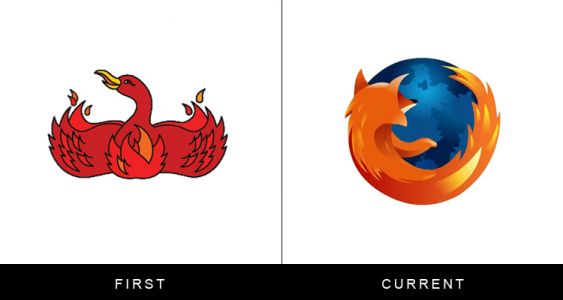 20 Of The Craziest Logo Transformations Ever
