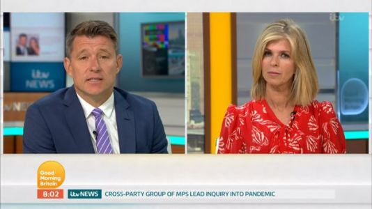 Kate Garraway Makes Her Return To Presenting Good Morning Britain After Three-Month Absence