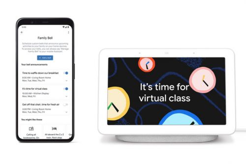 You can now broadcast messages to specific Google Assistant devices or rooms