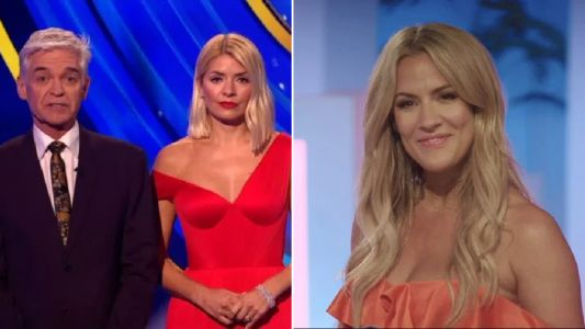 Phillip Schofield chokes up during emotional Dancing on Ice tribute to Caroline Flack