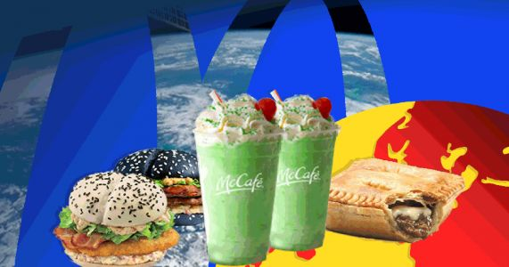 The weird and wonderful items you can order in McDonalds around the world