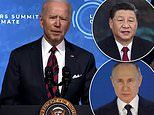 Biden vows to slash US carbon emissions in HALF by 2030 in virtual climate summit
