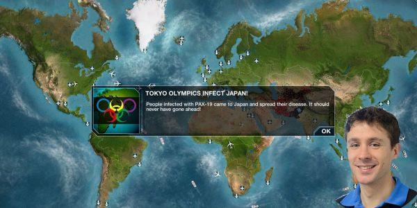 Plague Inc. creators turned the Olympics into a superspreader event to help players understand the real risk of outbreaks at the games