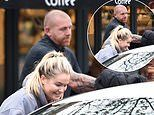 Molly-Mae Hague is escorted by a new bodyguard after recruiting full-time protection since burglary