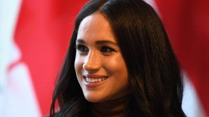 Meghan has shared behind-the-scenes photos of her charity work