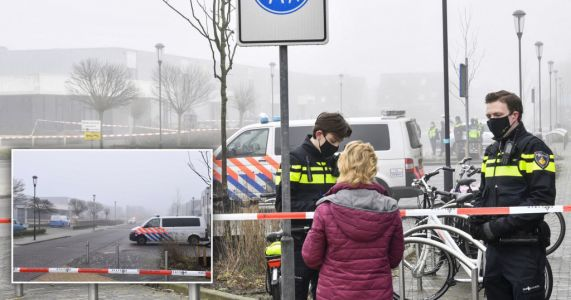 'Deliberate' explosion at Dutch Covid test centre after surge in cases