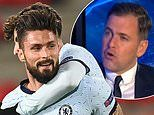 Olivier Giroud scores superb header to send Chelsea through to the Champions League knockout stages