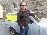 Man gets four parking tickets after his Reliant Robin was moved onto double lines while on holiday