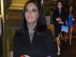 Jemma Lucy steps out for the first time since welcoming her baby girl