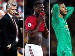 After the worst start to a season in 27 years, Solskjaer's problems are mounting at Man United