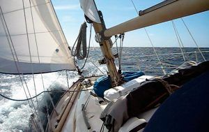 Norway to Scotland on a Nicholson 32 - a true North Sea passage