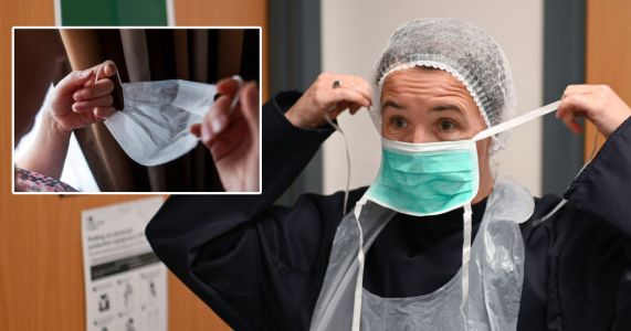 50,000,000 NHS face masks that cost £150,000,000 aren't safe to use