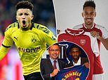 Borussia Dortmund 'working with Dembele and Aubameyang agent' in Man United talks over Jadon Sancho