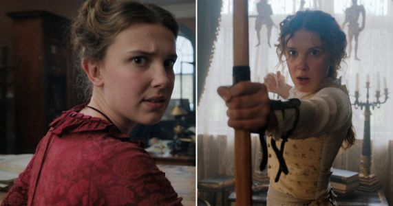 When is Millie Bobby Brown's Enola Holmes film released on Netflix?