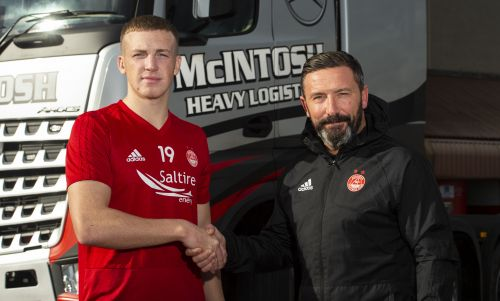 Aberdeen's Lewis Ferguson insists there is no bad blood between him and Rangers goalkeeper Allan McGregor