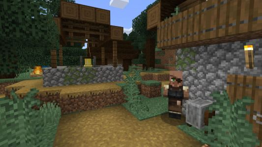 Plan your Animal Crossing village in Minecraft