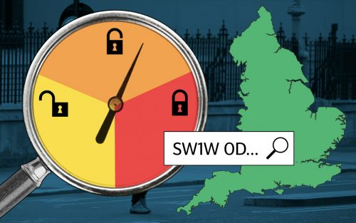 What tier is my area in? Use our Covid lockdown map to check your postcode