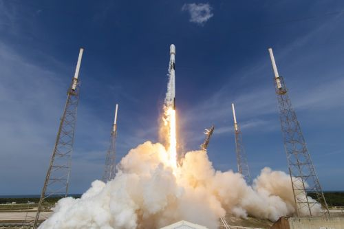 SpaceX launches its first mission for the U.S. Space Force