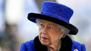 The Queen is already 'back at her desk' following her night in hospital, says Boris Johnson