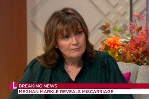 Lorraine Kelly says Meghan Markle's miscarriage 'hit home' after own baby loss