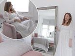 Millie Mackintosh gives a tour of her pastel bedroom and en suite ahead of her baby's arrival