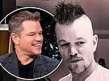 Matt Damon 'looked like a rooster' after letting his daughters give him a maroon mohawk