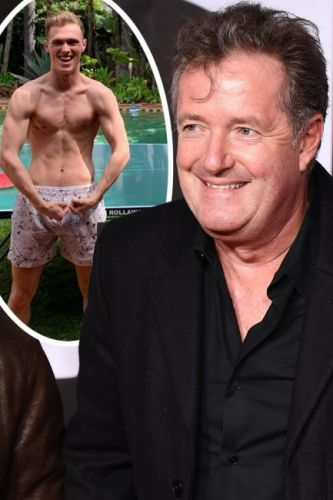 Piers Morgan's jaw-dropping picture of shirtless son Stanley leaves fans urging him to apply for Love Island